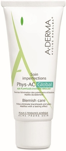 A-Derma PHYS-AC Soin Imperfection 40ml