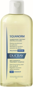 Ducray Squanorm Shampooing Pellicules Grasses 200ml