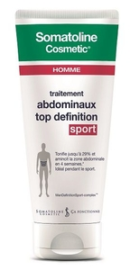 Somatoline Cosmetic Homme Traitement Abdominaux Top Definition Sport 200ml
