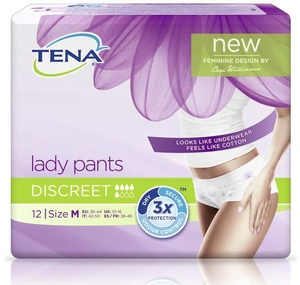 Tena Lady Pants Discreet Medium 12 Culottes