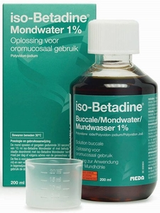 iso-Betadine Buccale 1% Solution Buccale 200ml