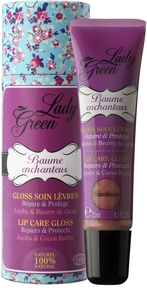 Lady Green Baume Enchanteur Gloss Framboise 15ml