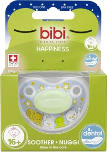 BIBI Happiness Sucette Glow in the Dark (plus de 16 mois)
