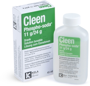 Cleen Phospho-soda 11g/24g Solution Buvable 45ml