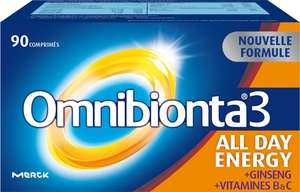 Omnibionta-3 All Day Energy 90 Comprimés (nouvelle formule)