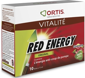 Ortis Red Energy Bio Alcool 10x15ml