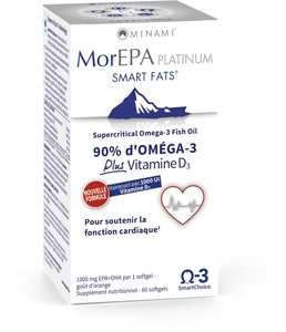 MorEPA Platinum Smart Fats 60 Softgels