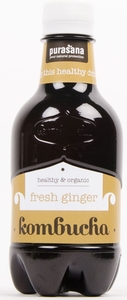 Purasana Kombucha Drink Fresh Ginger 330ml
