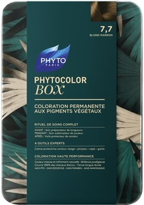 Phytocolor Box Coloration Permanente 7.7 Blond Marron
