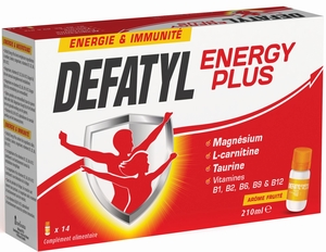Defatyl Energy Plus 14 Flacons x 15ml