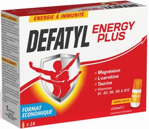 Defatyl Energy Plus 28 Falcons x 15ml