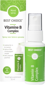 Best Choice Spray Bouche Vitamine B Complex 25ml